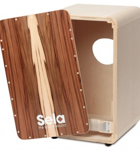CaSela Cajon kit Satin Nut