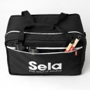 Sela Cajon Bag Black se005 side pocket